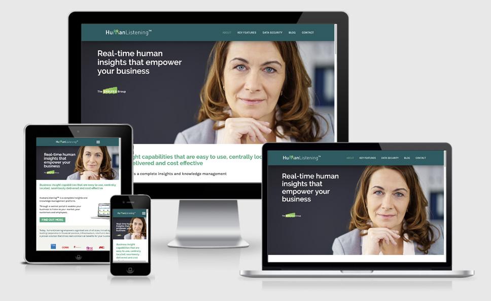 Human Listening website
